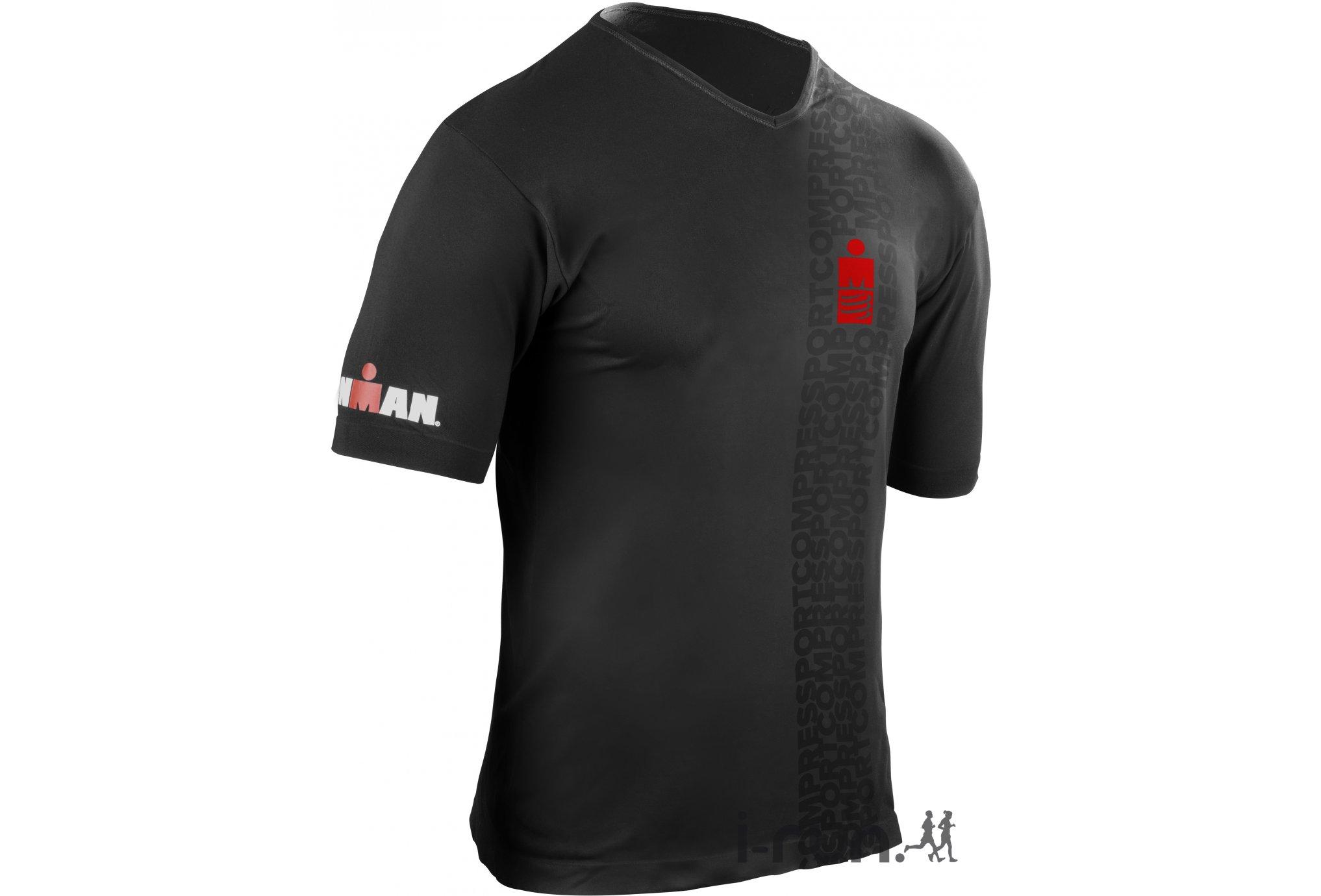 Compressport Tee-Shirt Ironman Running Smart M v�tement running homme