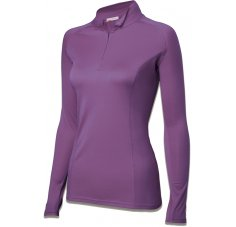 Damart Sport Maillot Thermolactyl 1/2 Zip Body 4 W