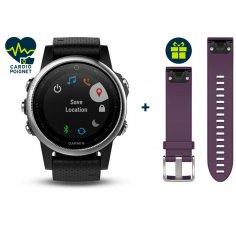 Garmin Fenix 5S GPS Multisports + Bracelet Offert