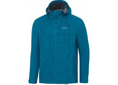 gore running wear veste essential gore tex active hooded m pas cher v tements homme running. Black Bedroom Furniture Sets. Home Design Ideas