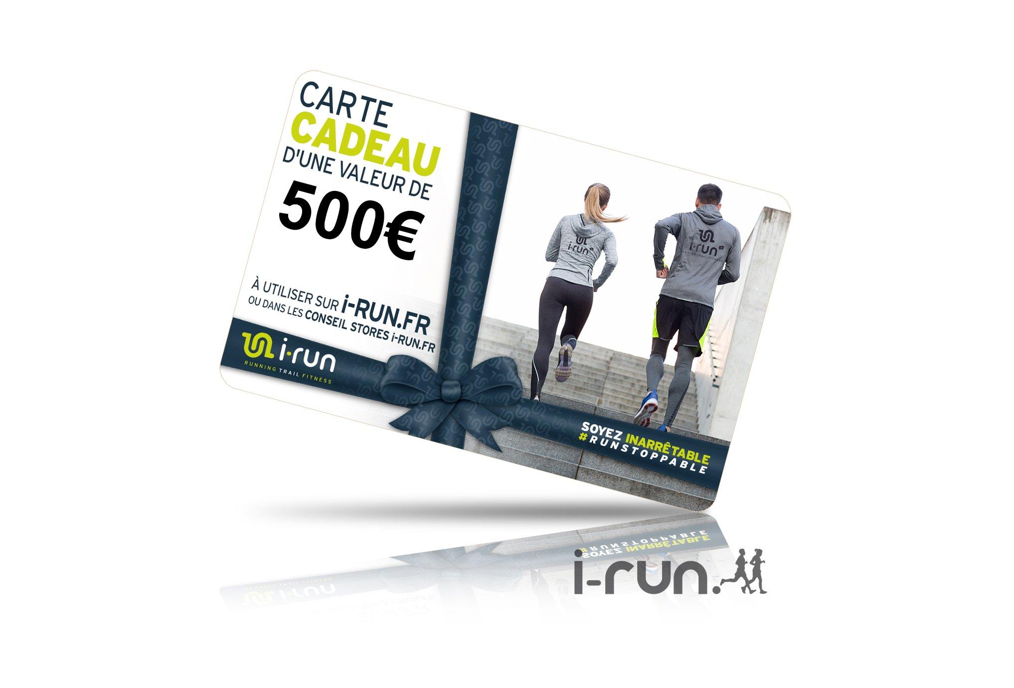 I-Run.Fr Carte cadeau 500 cartes cadeau