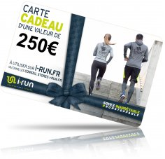 i-run.fr Carte Cadeau 250