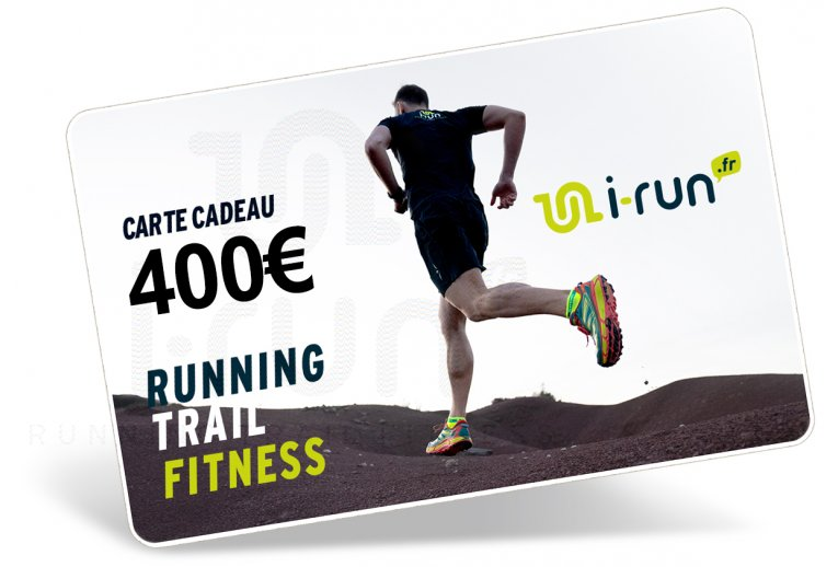 i-run.fr Carte Cadeau 400 M