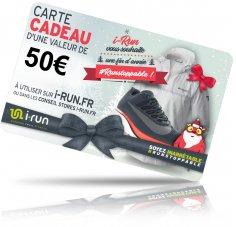 i-run.fr Carte Cadeau 50 Spéciale Noël - T