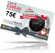 i-run.fr Carte Cadeau 75 Spéciale Noël - C