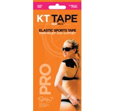 KT Tape Fast Pack 3 bandes Synthetic Pro pink