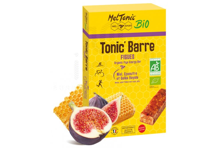 MelTonic Etui Tonic'Barre BIO - Miel figues