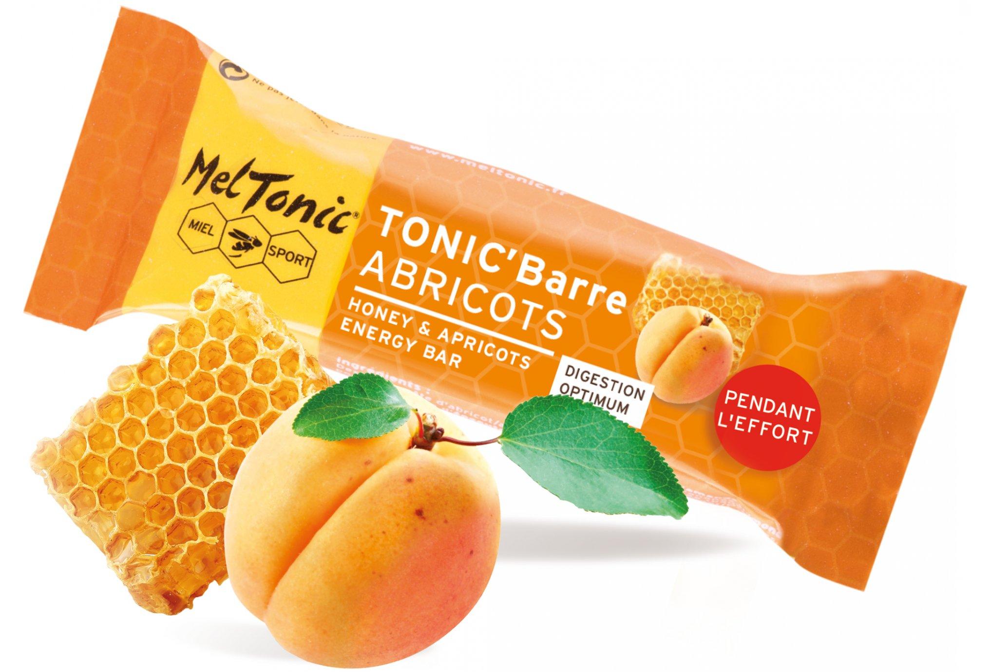 MelTonic Tonic'Barre - Abricot Miel Diététique Barres