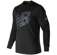 New Balance Accelerate Graphic Long Sleeve M