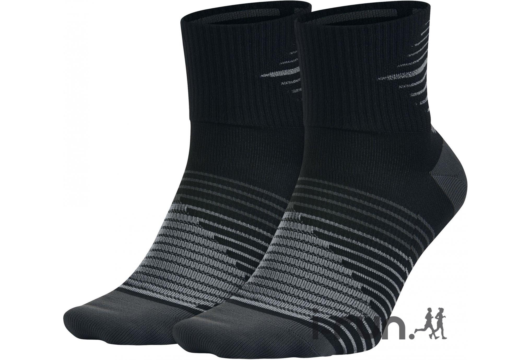 big sale 00112 c1036 Nike 2 paires Dri-Fit Lightweight Chaussettes