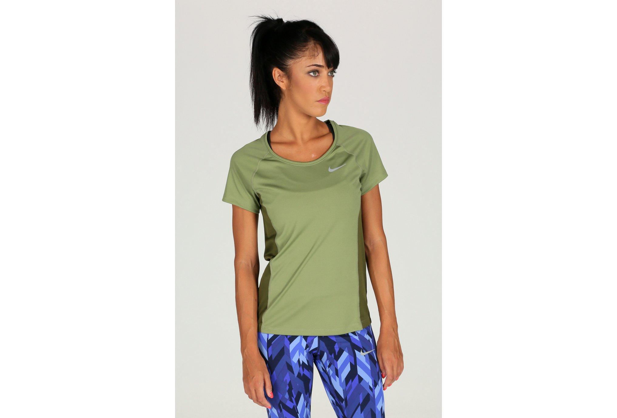Nike Dry Miler Running Top W vêtement running femme