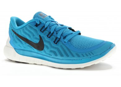 chaussures running homme free 5.0 m noir nike