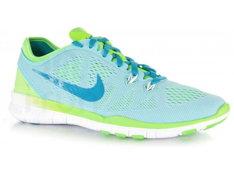Nike Free 5.0 Jaune Fluo Femme