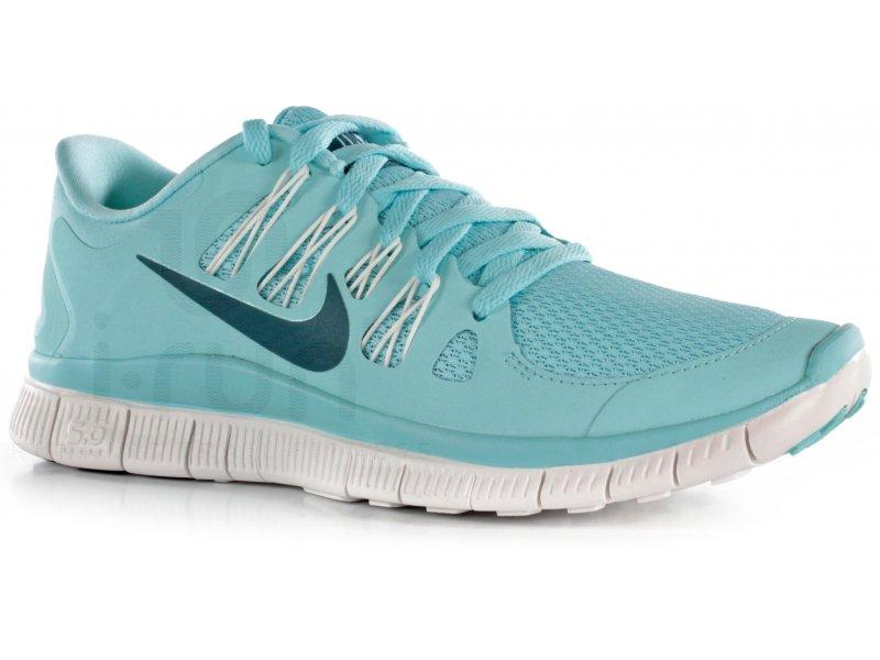 Nike Free 5.0 Bleu Ciel