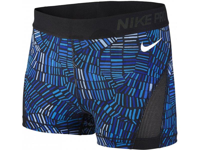 Nike Pro Cuissard court Hypercool Tidal Multi W pas cher Destockage running Vêtements femme en promo