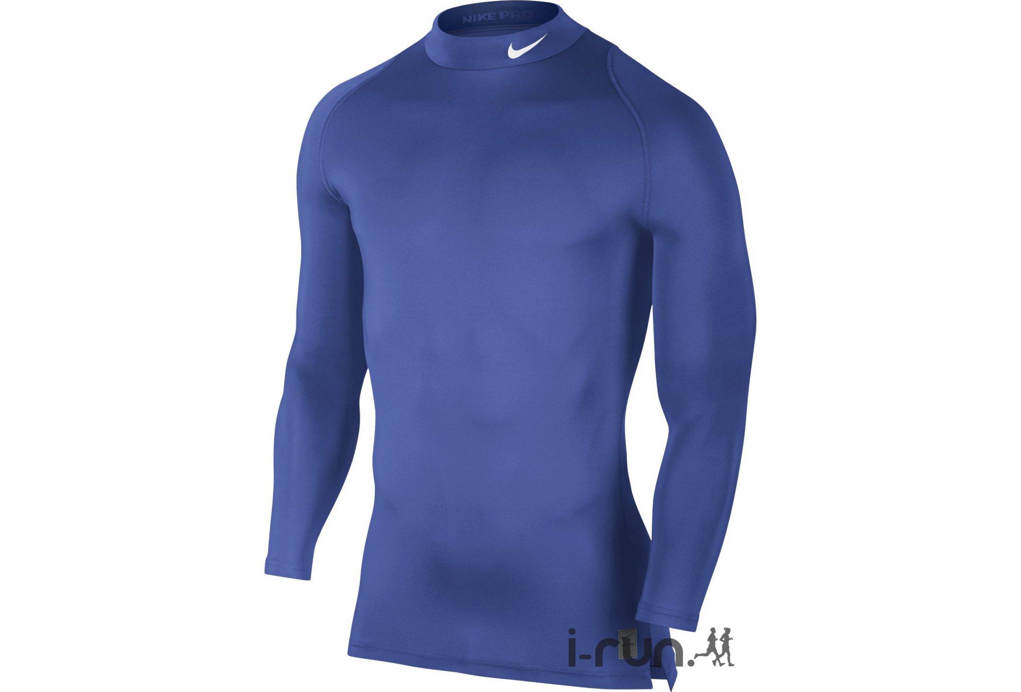 Trail Session - Nike Pro Maillot Cool Compression Mock M vêtement ... da2b434af4c2
