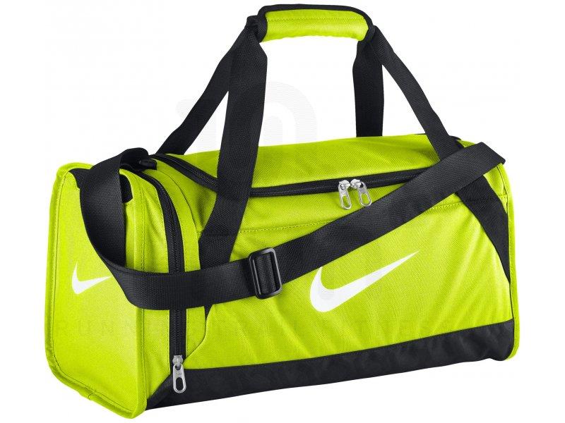 nike sac de sport brasilia duffel 6 xs pas cher accessoires running sac de sport en promo. Black Bedroom Furniture Sets. Home Design Ideas