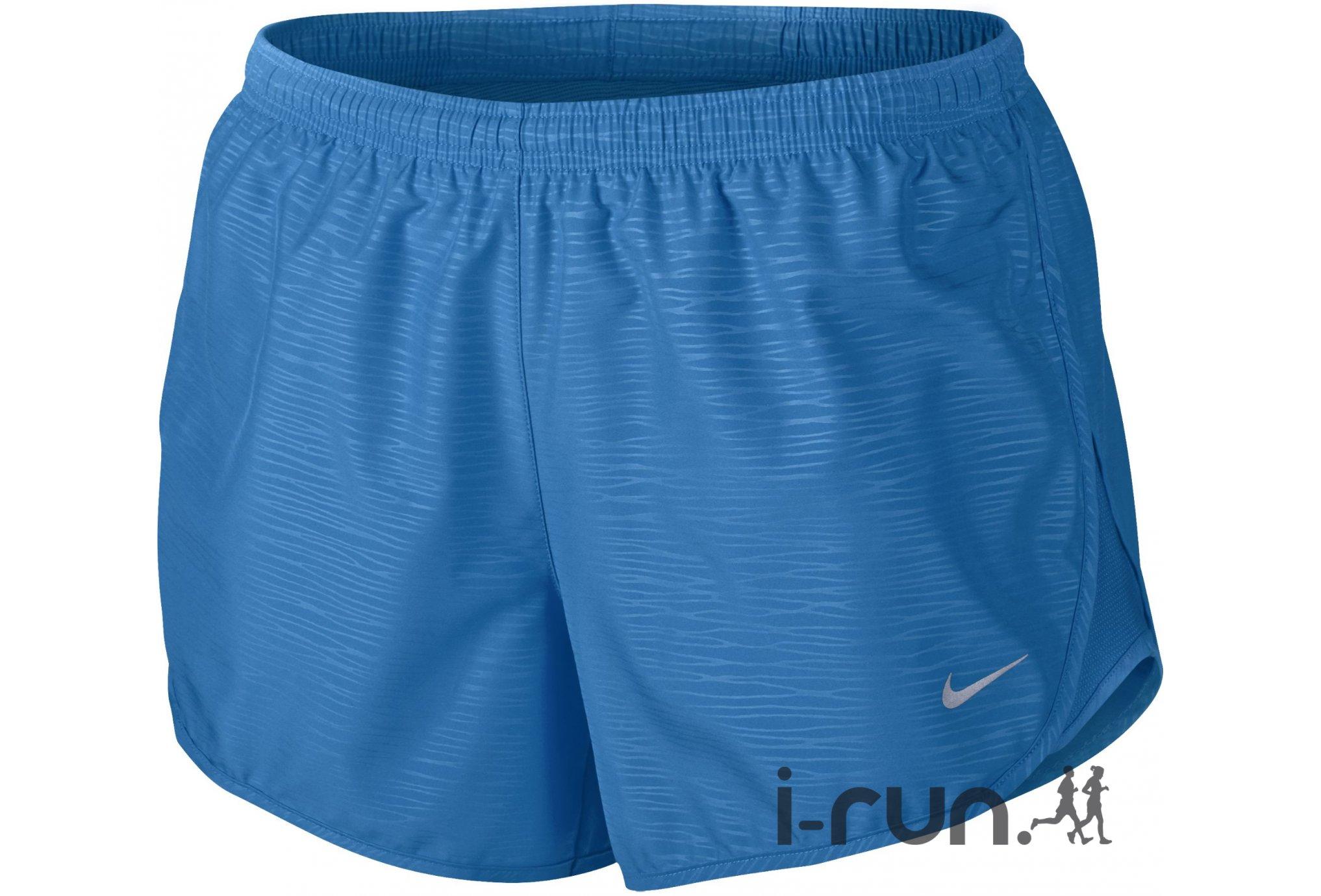 Nike Short Tempo Modern Embossed W vêtement running femme