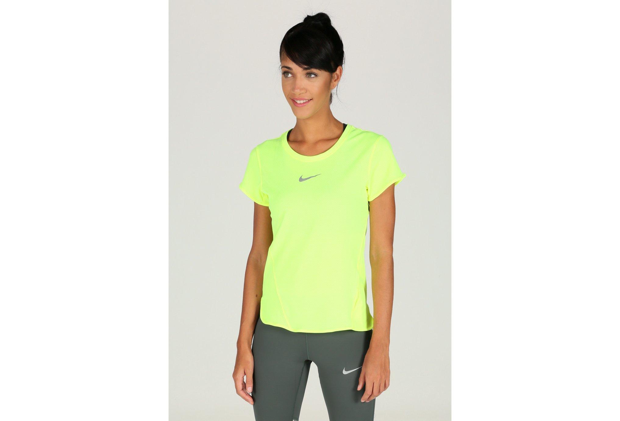 Nike Tee-shirt AeroReact W vêtement running femme