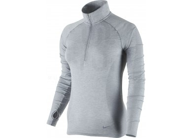 Nike Tee-shirt Dri-Fit Knit 1/2 Zip W