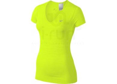 Nike Tee-Shirt Dri-Fit Knit V-Neck W