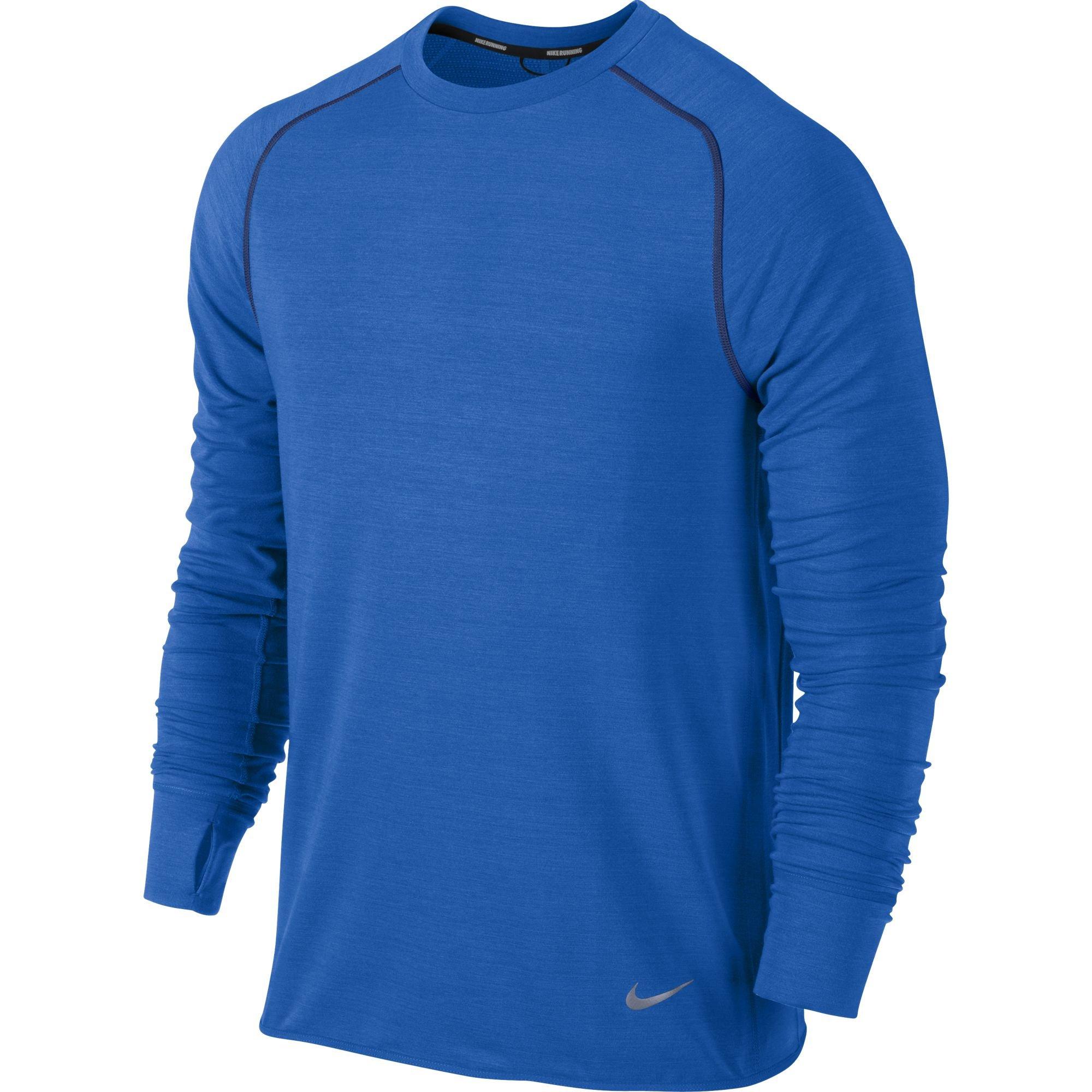 Nike Tee-shirt Dri-Fit Sprint Crew M v�tement running homme