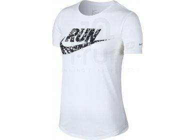 Nike Tee Shirt Printed Swoosh W