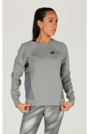 Nike Tee-shirt Tech Fleece Crew Mesh W