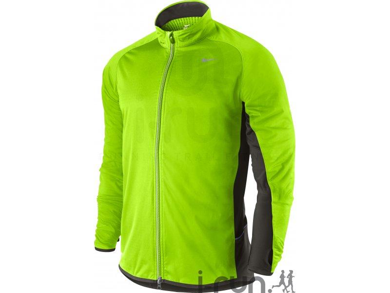 Nike Veste Element Shield M pas cher Vêtements homme running Vestes & coupe Vent en promo