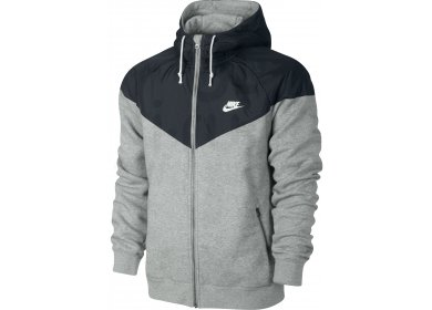 nike veste ru overlay fleece windrunner m pas cher v tements homme running vestes coupe vent. Black Bedroom Furniture Sets. Home Design Ideas