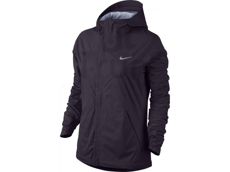 nike veste shieldrunner w pas cher v tements femme running vestes coupes vent en promo. Black Bedroom Furniture Sets. Home Design Ideas