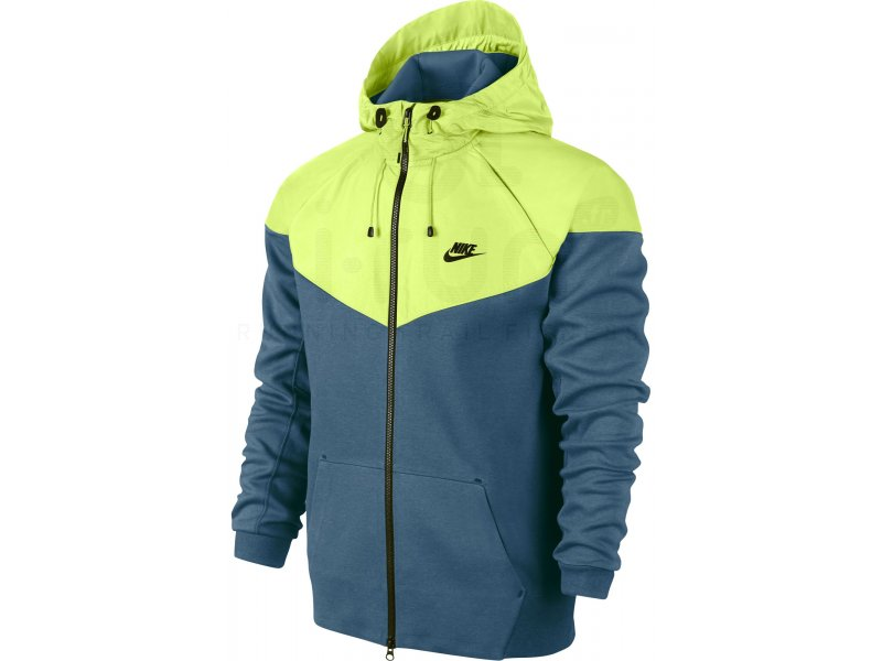 nike veste tech windrunner m pas cher v tements homme running vestes coupe vent en promo. Black Bedroom Furniture Sets. Home Design Ideas