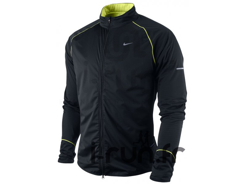 nike veste thermique de running hiver v tements homme running vestes coupe vent nike veste. Black Bedroom Furniture Sets. Home Design Ideas