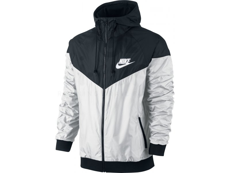 nike veste windrunner m pas cher v tements homme running vestes coupe vent en promo. Black Bedroom Furniture Sets. Home Design Ideas