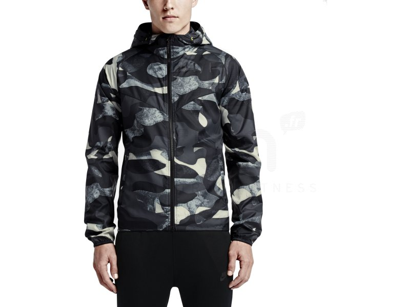 nike veste windrunner track and field camo m pas cher v tements homme running vestes coupe. Black Bedroom Furniture Sets. Home Design Ideas
