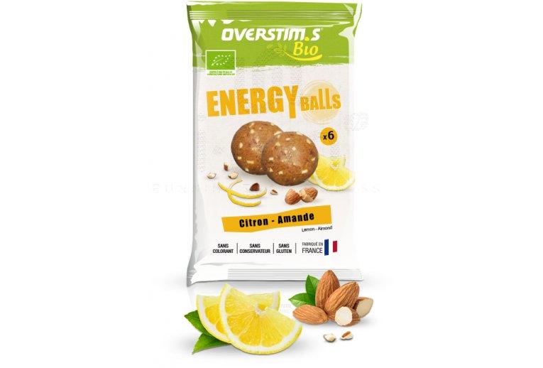 OVERSTIMS Energy Balls Bio - Citron amande