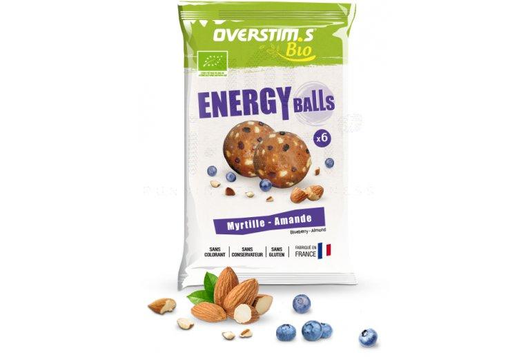 OVERSTIMS Energy Balls Bio - Myrtille amande