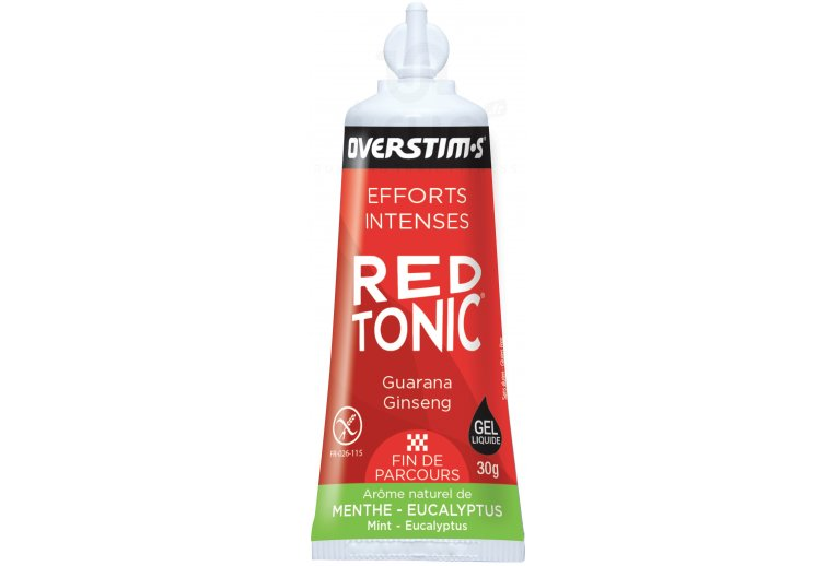OVERSTIMS Red Tonic Sprint Air Liquide - menthe eucalyptus