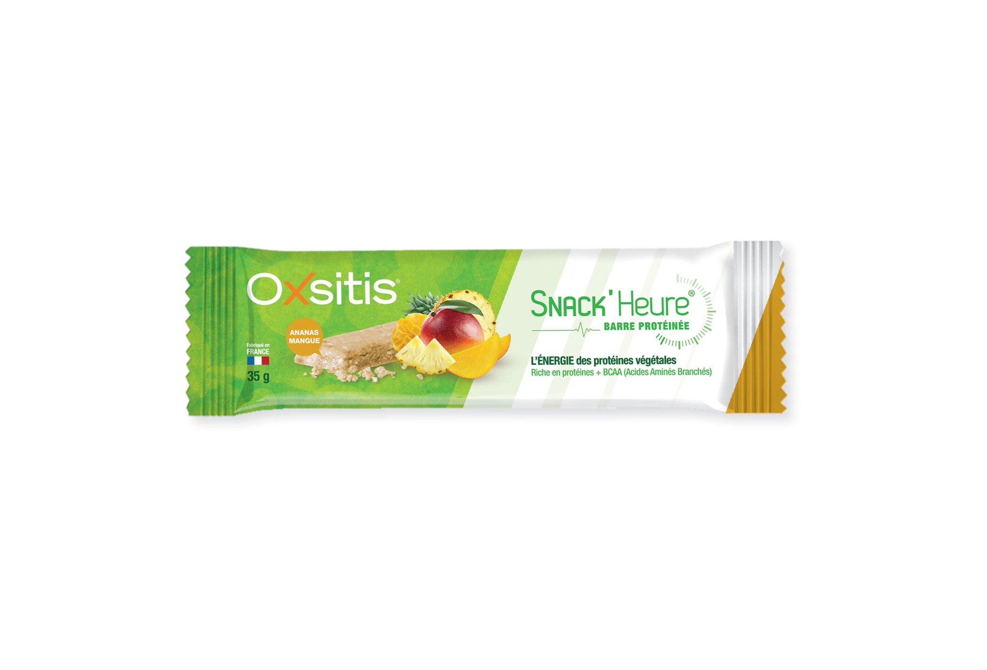 Oxsitis Barre Protéinée Snack'Heure - Ananas Mangue Diététique Barres