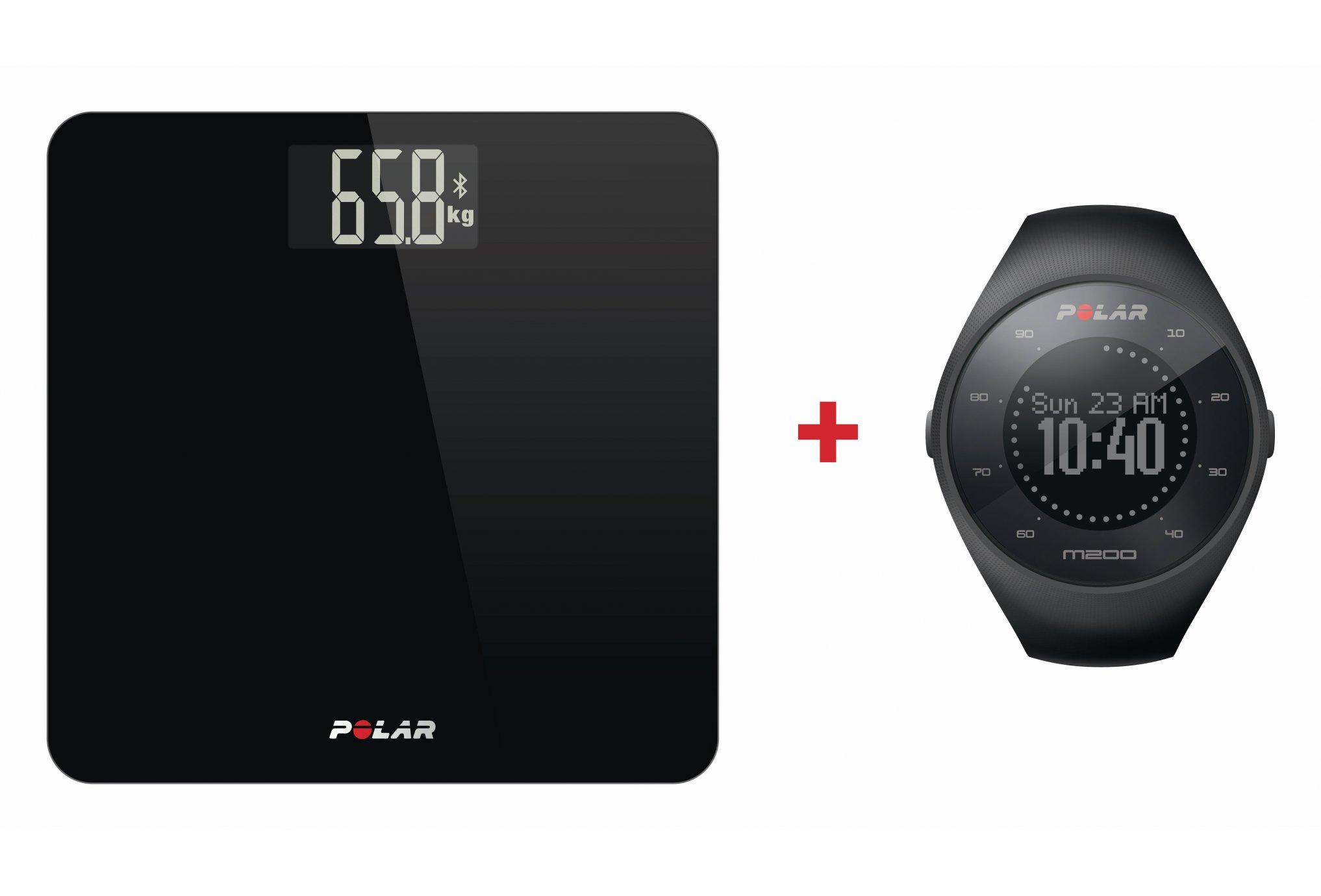 Polar Pack Balance + M200 Accessoires connectés
