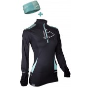 Raidlight Maillot Wintertrail + Bandeau Wintertrail W