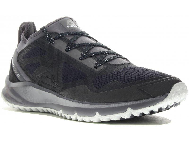 reebok all terrain freedom m pas cher chaussures homme running trail en promo. Black Bedroom Furniture Sets. Home Design Ideas