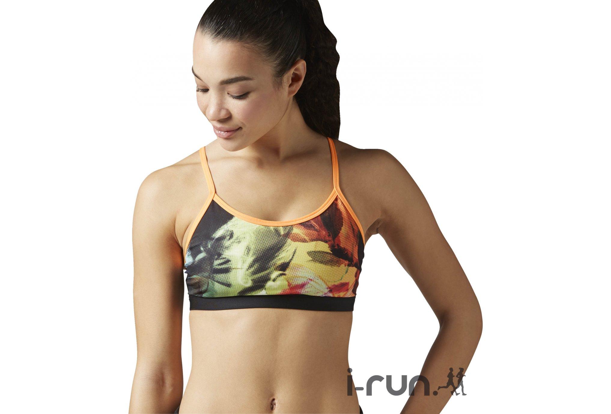 9231e9043e4 Trail Session - Reebok Brassière Yoga Paradise W vêtement running femme