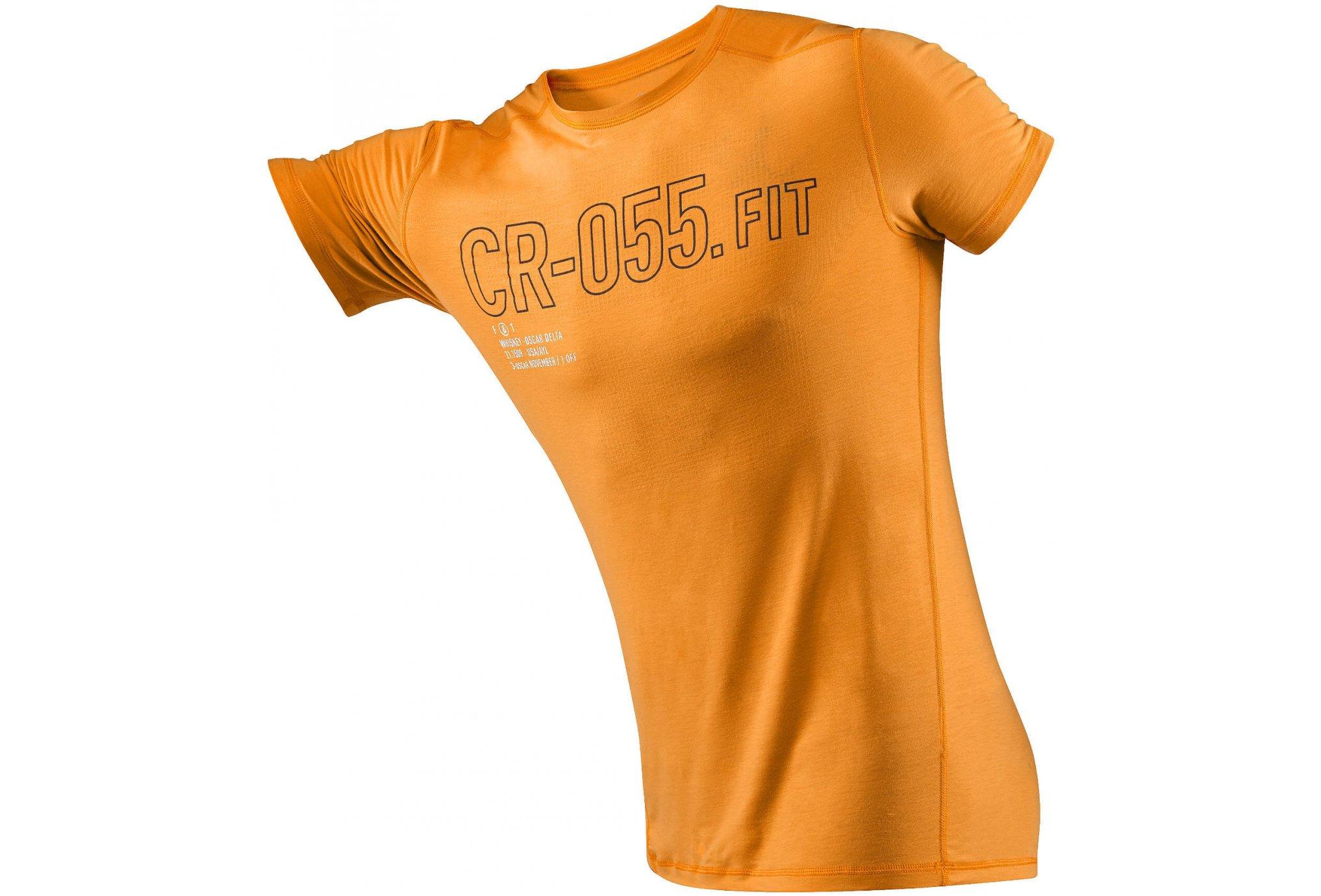Reebok Tee-shirt CrossFit Burnout M Diététique Vêtements homme