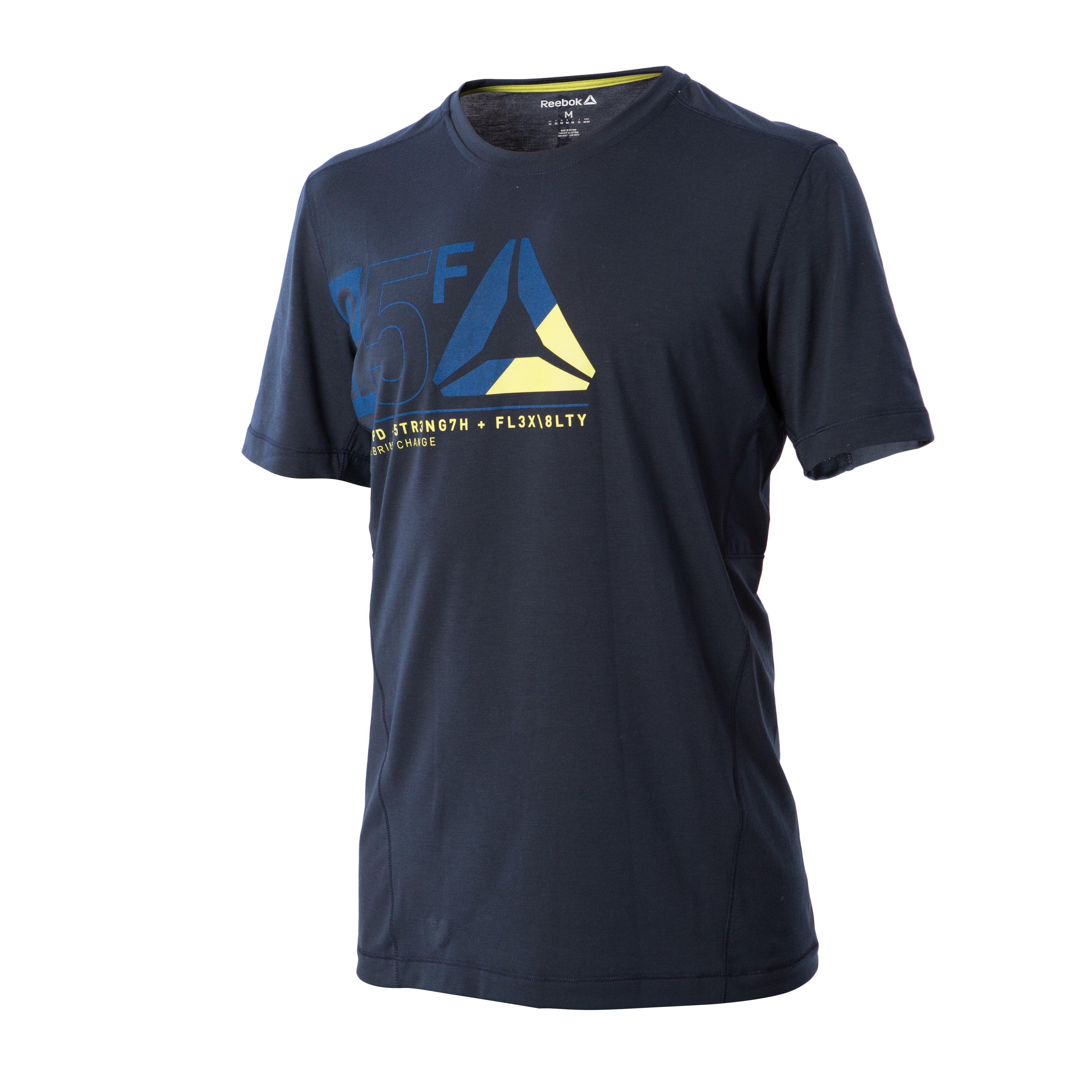 Reebok Tee-Shirt Graphic One Series M v�tement running homme