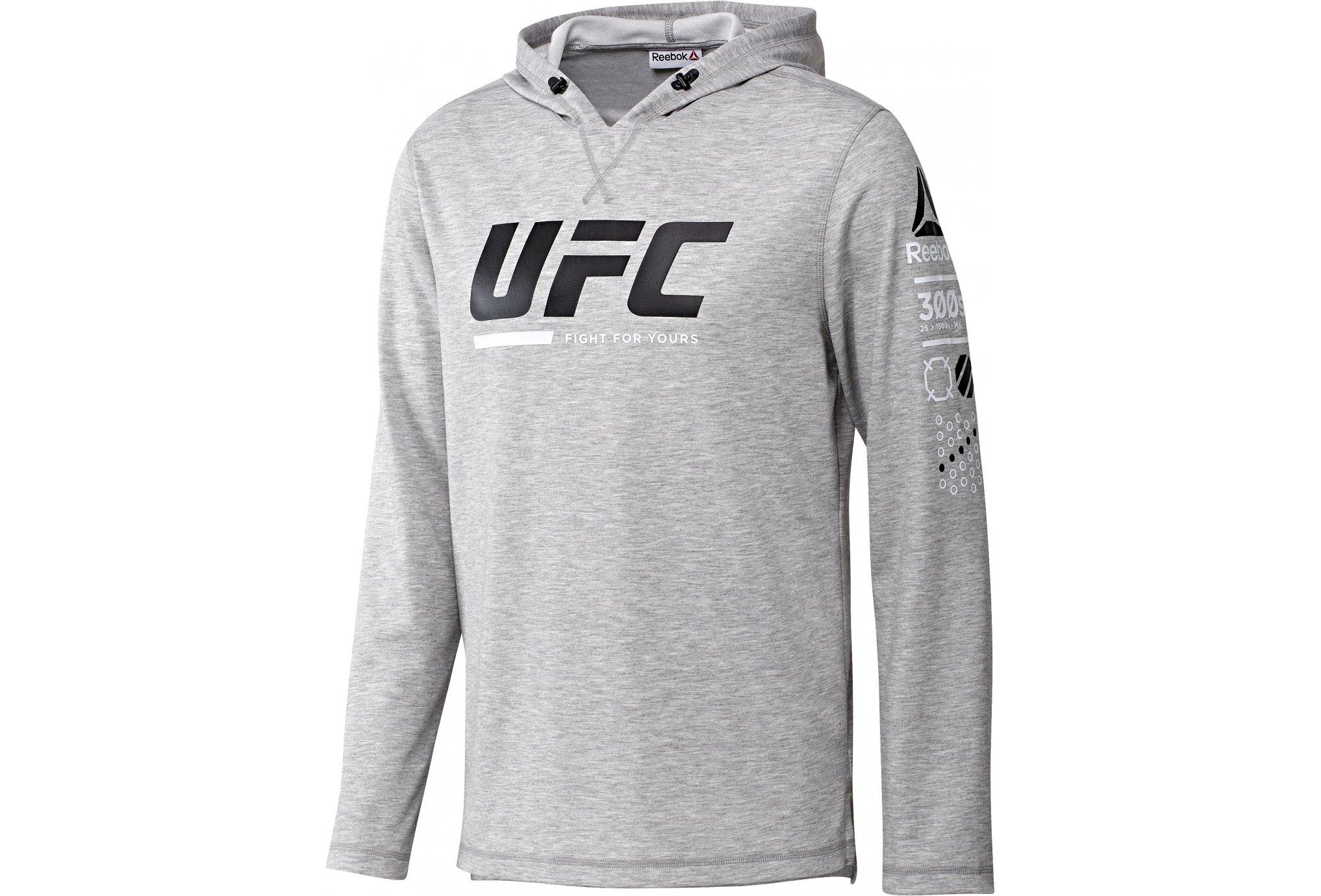 Reebok UFC FG Pullover M vêtement running homme