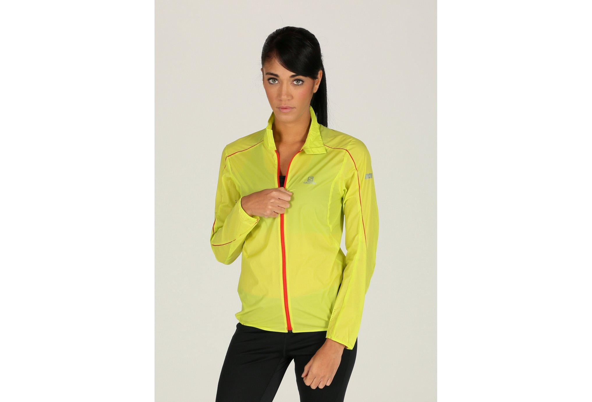 Salomon Coupe-vent S-Lab Light W vêtement running femme