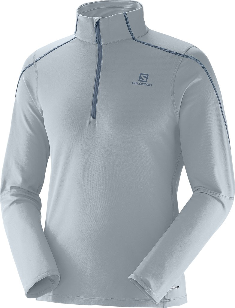 Salomon Maillot Discovery 1/2 Zip Midlayer M v�tement running homme