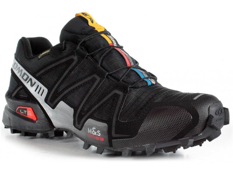 salomon speedcross 3 gore tex m pas cher chaussures homme running trail en promo. Black Bedroom Furniture Sets. Home Design Ideas