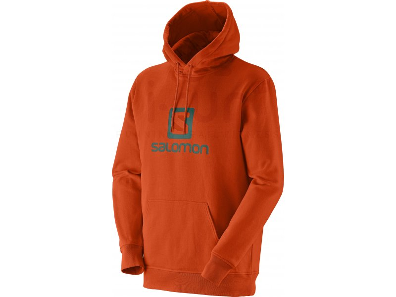 salomon sweat logo m pas cher v tements homme running sportswear en promo. Black Bedroom Furniture Sets. Home Design Ideas